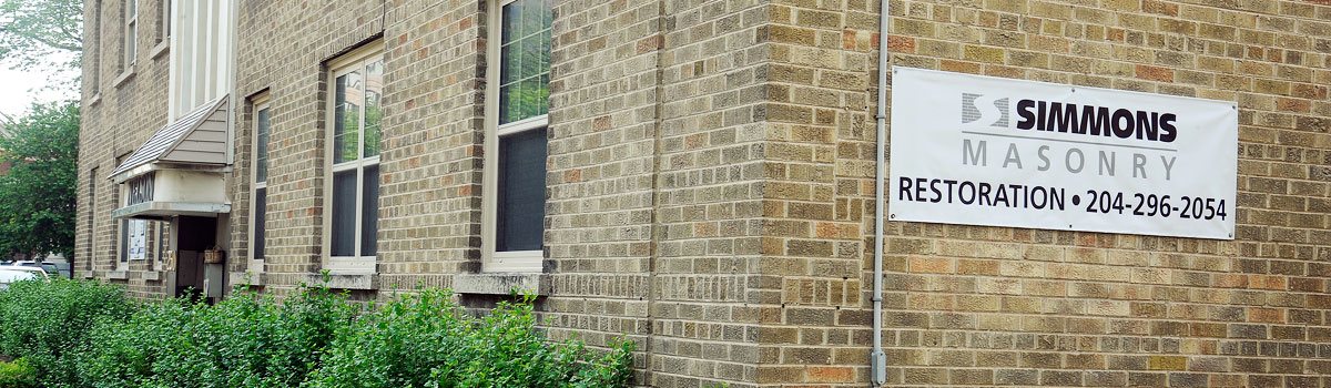 Masonry construction, renovation and restoration company in Winnipeg